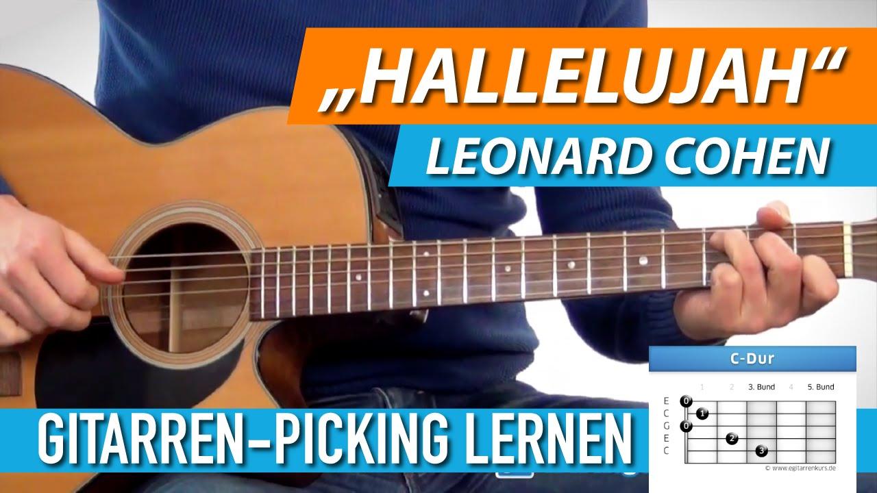 ☆ HALLELUJAH ▻ Leonard Cohen, Jeff Buckley ▻ Schönes Gitarren ...