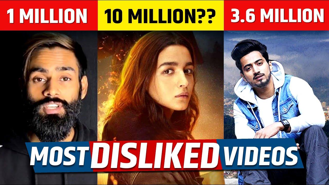 Top 5 Most Disliked Videos On Youtube India | Sadak 2 Trailer
