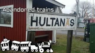 Övergivna tåg i Hultanäs | Abandoned trains in Hultanäs, Sweden