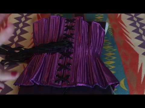 Corset Unbagging: TT Purple Cupped Rib Gemini