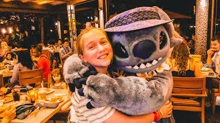 Stitch Character Dinner at Aulani