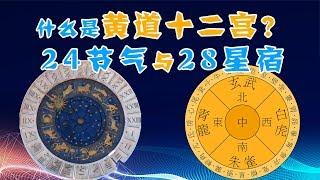 今天来观星!什么是黄道十二宫与二十八星宿?古人对星空的划分