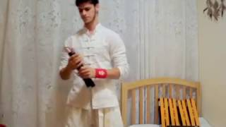 Expert Nunchaku Lesson - INFINITE Finger ROLL - with subtitles