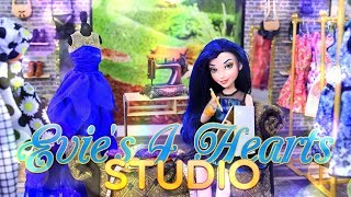 DIY - How to Make: Doll Room in a Box | Disney Descendants 2 | Evie's 4 Hearts Studio