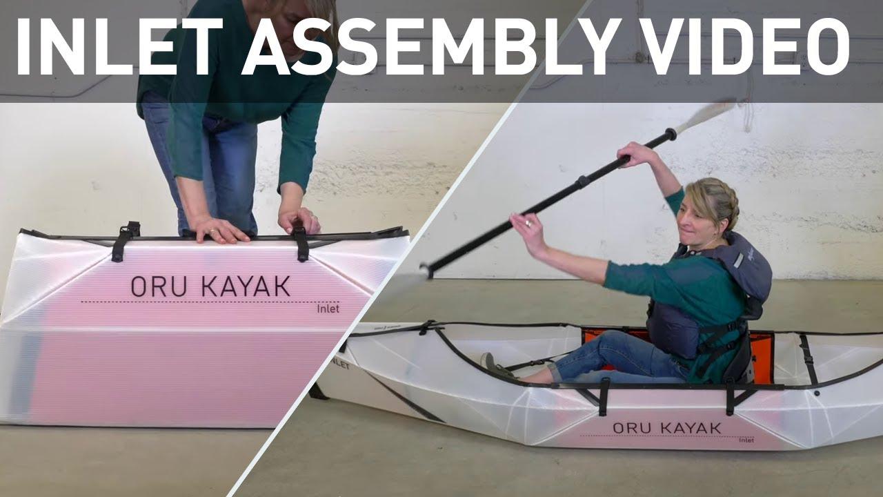 Download Oru Kayak Inlet Folding Kayak Assembly Video | Lightweight Origami Kayak that fits in your trunk