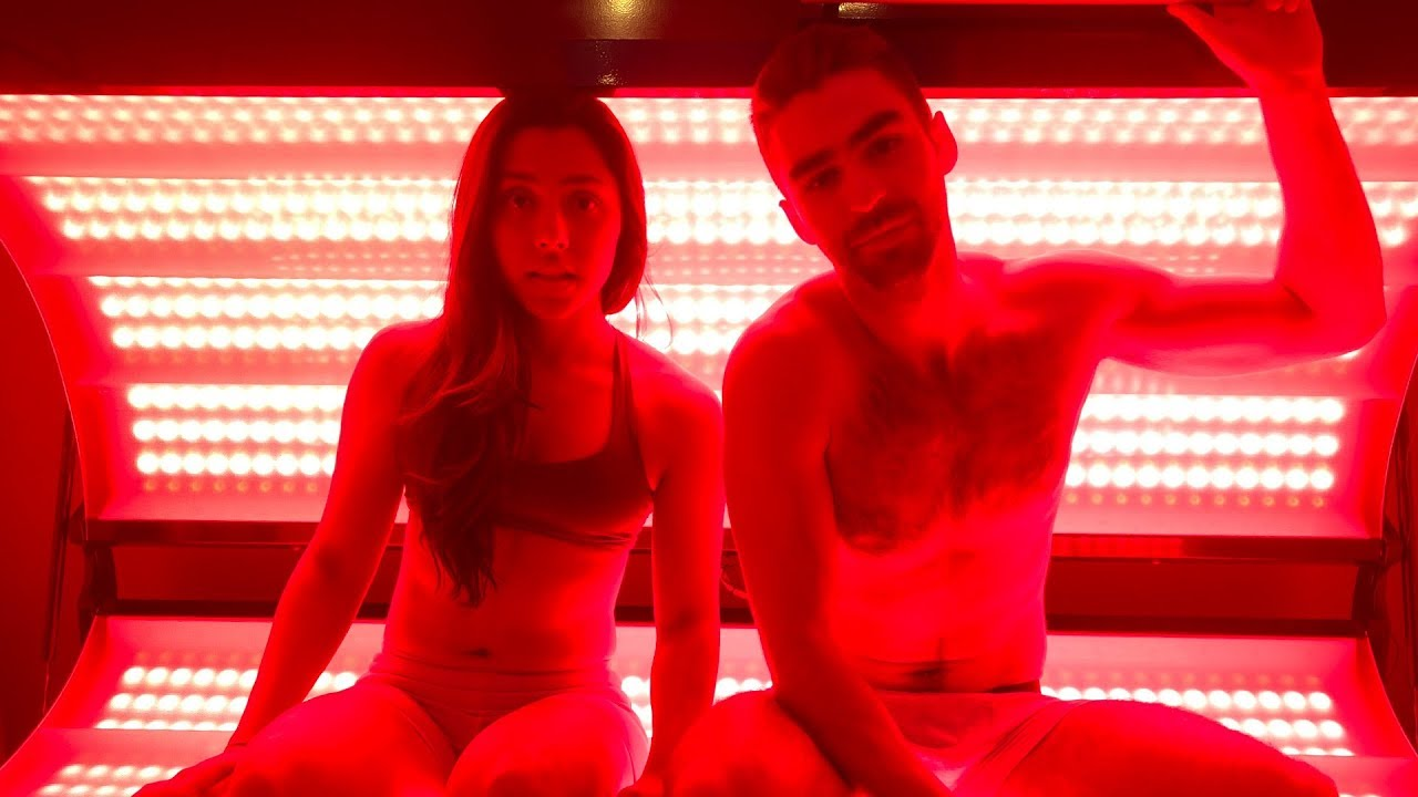 """We Tried A Pain-Relieving """"Tanning Bed"""""""