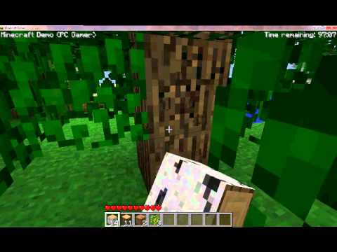 Mika play minecraft game player demo youtube for Mine craft free demo