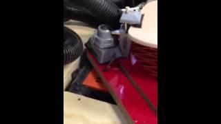 Downdraft Sanding Table