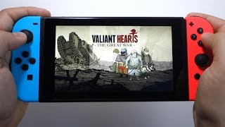 Valiant Hearts The Great War Nintendo Switch gameplay