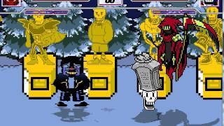 Mugen Undertale Characters Intro