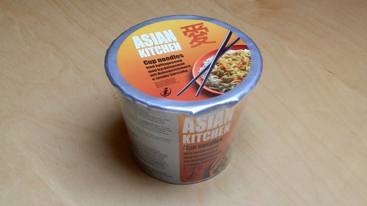 Asian Kitchen Cup Noodles [Chicken]