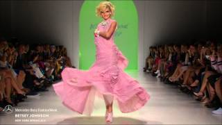 Betsey Johnson Mercedes Benz Fashion Week S S15 Collections