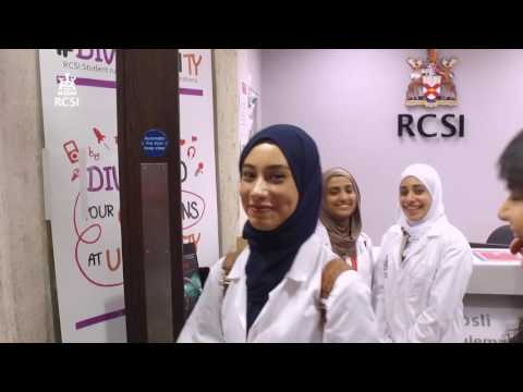Your First Week as an Undergraduate student at RCSI