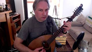 The Butterfly (slig jig) on bouzouki