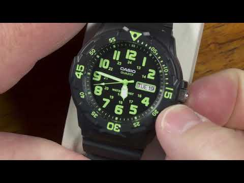 """Casio Budget """"Diver Style"""" Watch MRW200H In Depth Review"""