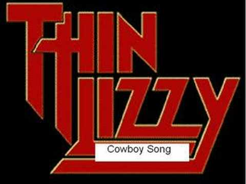 Thin Lizzy Cowboy Song