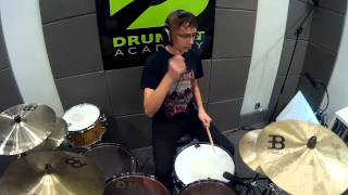 Tyr-The Lay of Thrym- Drum cover.Szkoła perkusyjna Drumset Academy