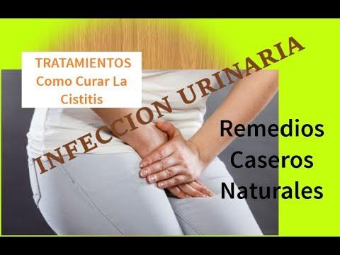 Remedios naturales para curar infeccion urinaria