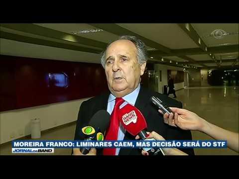STF decidirá sobre a posse de Moreira Franco