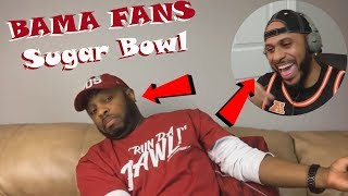 How Bama Fans Watched The 2018 Sugar Bowl (Semi-Final) Reaction