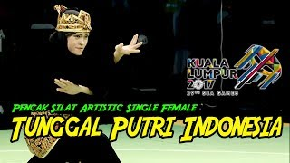 Download Video PENCAK SILAT Tunggal Putri INDONESIA Puspa Arumsari SEA Games 29th 2017 MP3 3GP MP4