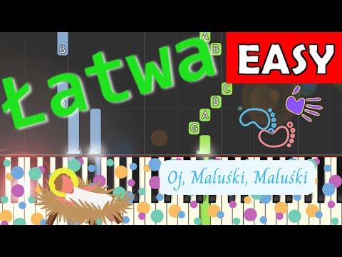 🎹 Oj, Maluśki, Maluśki - Piano Tutorial (łatwa wersja) 🎹