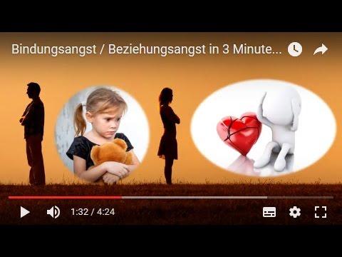 Bindungsangst / Beziehungsangst in 3 Minuten erklärt