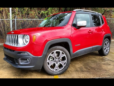 2016 jeep renegade limited start up detailed review youtube. Black Bedroom Furniture Sets. Home Design Ideas
