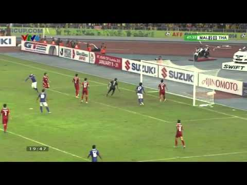 [Full Highlights] Malaysia 3-2 Thailand - AFF SUZUKI CUP 2014 Final - 2nd Leg