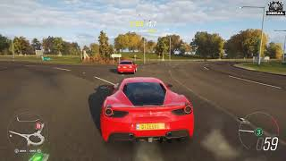 Forza horizon 4 farrari gameplay .