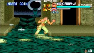 The Punisher Arcade: The story of Nick Fury