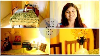 Dining Room Tour | Indian Dining Room | Home Decor |Scarlet Strokes