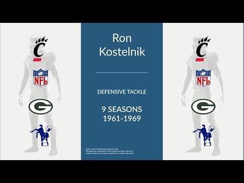 Ron Kostelnik: Football Defensive Tackle
