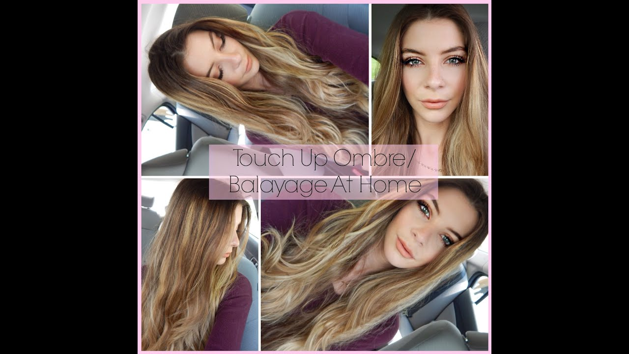 How to touch up ombrebalayage hair at home youtube pmusecretfo Gallery