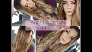 How To Touch Up Ombre/Balayage Hair At Home