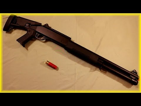 M3 3-Round Burst Airsoft Shotgun Review