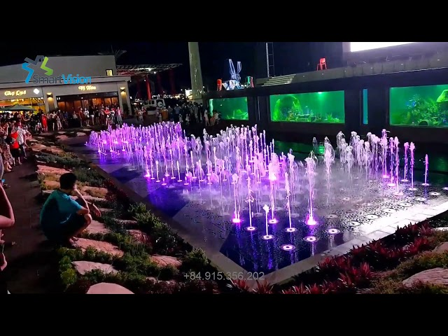 Matrix musical fountain - Van Don - Quang Ninh - Viet Nam