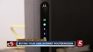 Save Big: Buy Your Own Internet Router/Modem