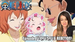 SEÑOR PINK'S TRAGIC BACKSTORY! One Piece Episode 714, 715, 716 REACTION!