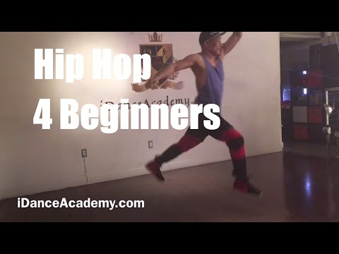 Beginner's Hip Hop Dance Lessons Los Angeles- iDanceAcademy DTLA (Dancehall- Vybz Kartel)