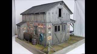 1:18 Custom Barn / Garage Diorama For Sale On Ebay