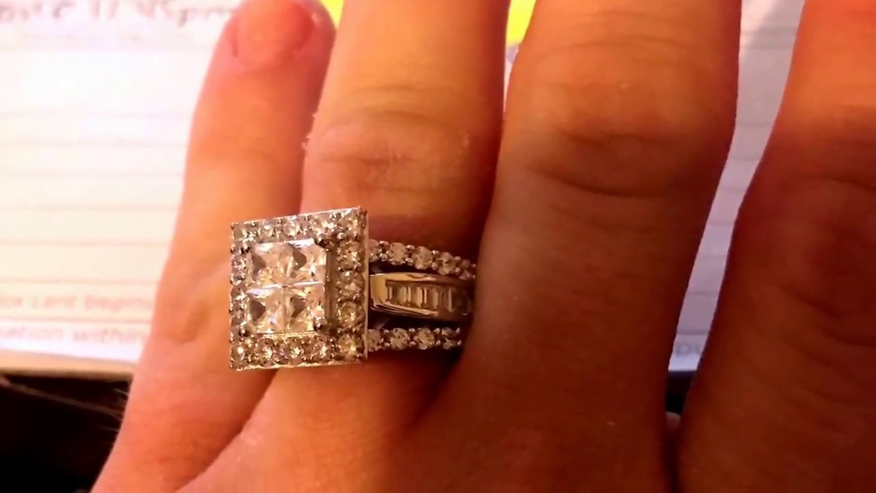 addca143fc2 Gorgeous Princess Cut 925 Sterling Silver White Sapphire Women's Engagement  Ring