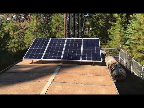 Off Grid Telcom power for a radio repeater