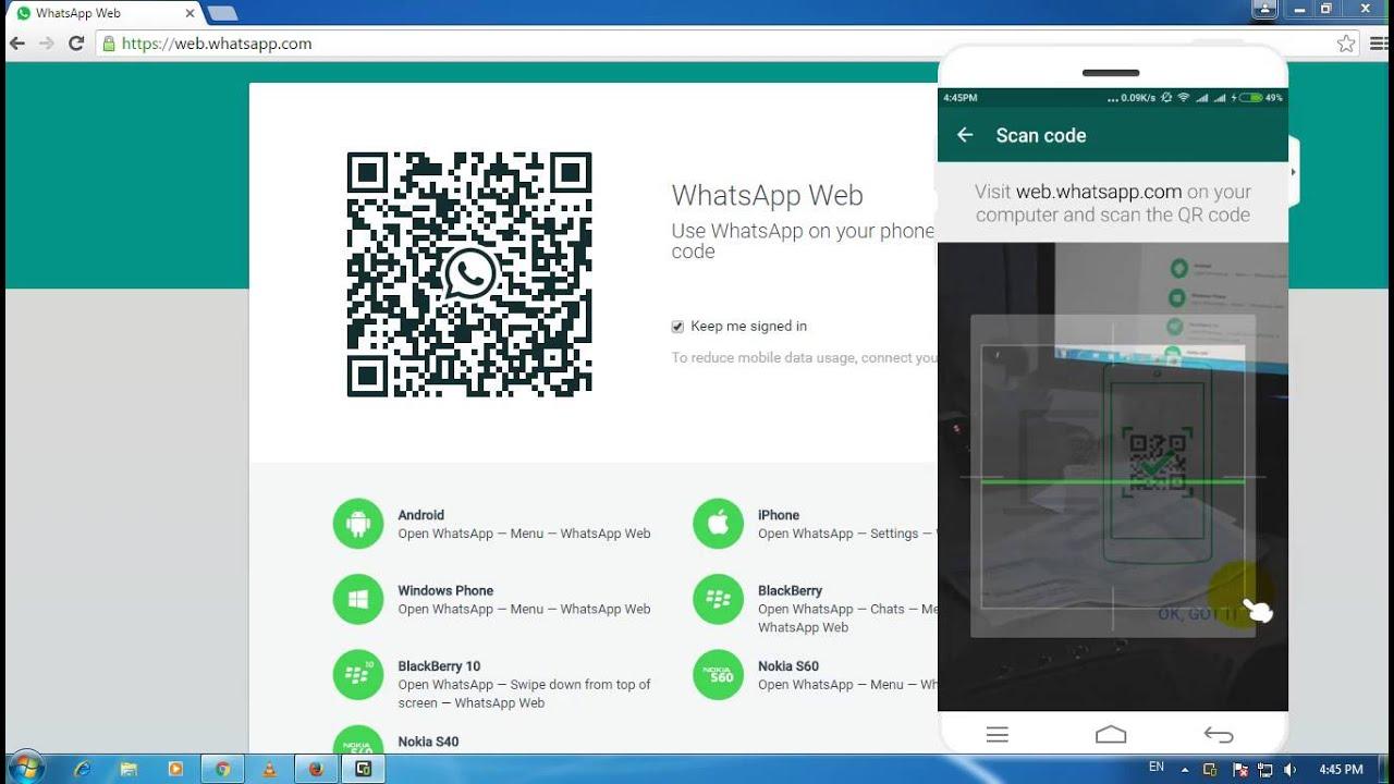 Whatsapp on pc software