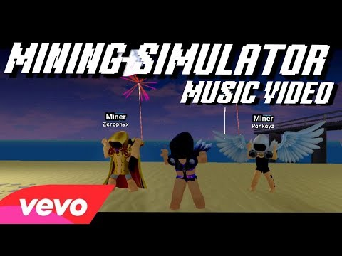 MINING SIMULATOR - DOMINUS (FRIENDS REMIX) [ROBLOX MUSIC VIDEO]