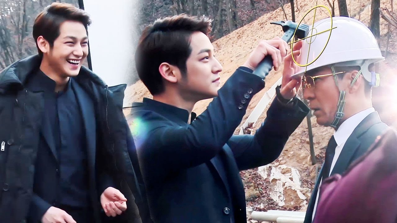 《Making Film》Kim Bum, reversal attraction of villain!|절대 악역 김범의 반전 매력! @Mrs. Cop2