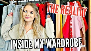 DECLUTTERING MY WARDROBE.. THE REALITY.. ORGANISE WITH ME!! | sophdoesnails