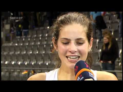 Julia Görges im Interview nach Fed Cup Match gegen Kvitova
