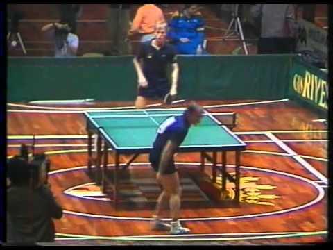 TENNIS TABLE  europa top 12 - barcelona 85 - 1985 -2