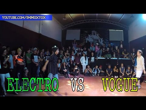 ELECTRO DANCE VS VOGUE | MIXER VS ANY FUNK
